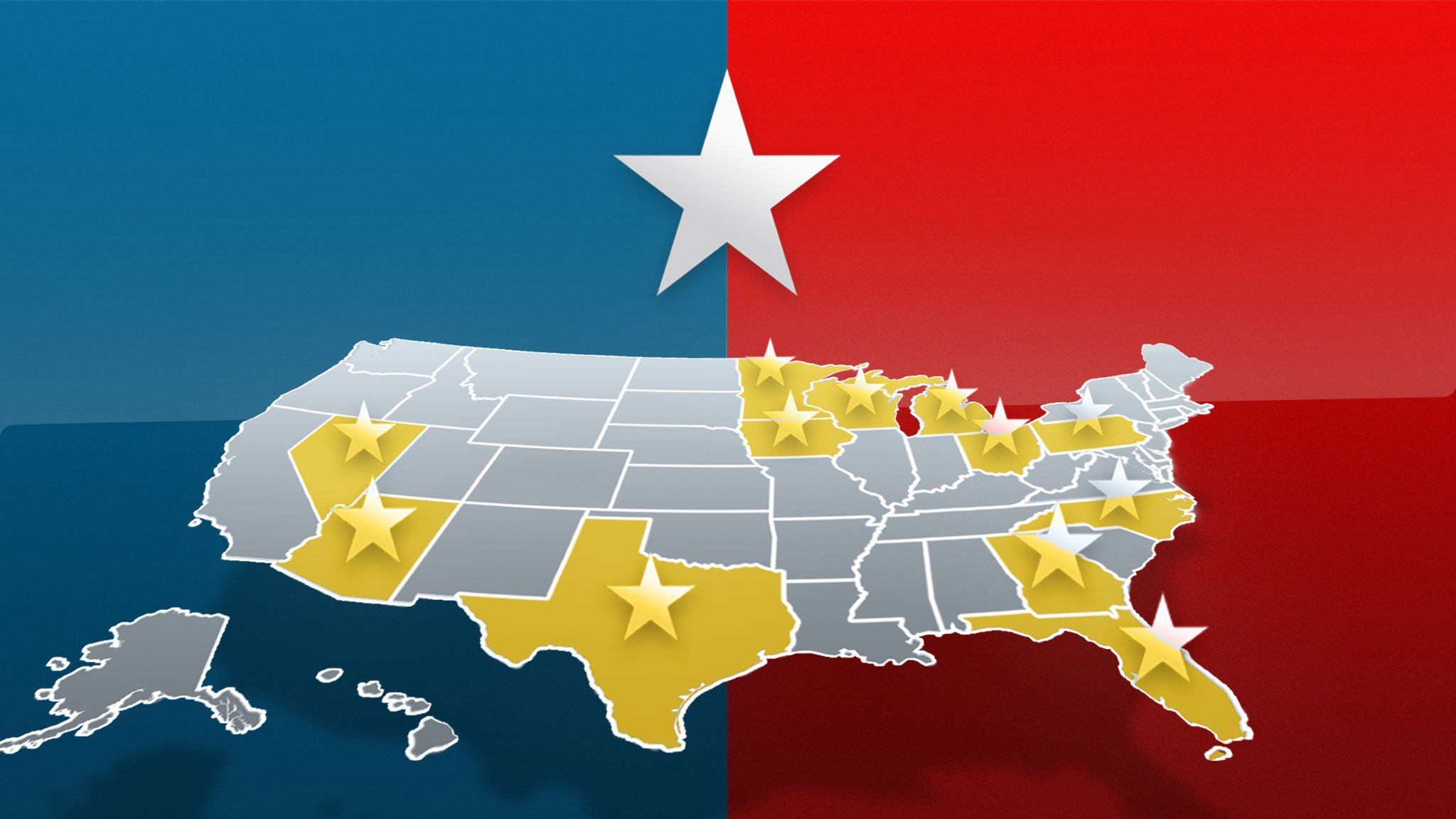 Us Election 2020 The Swing States Where The Race To The White House Will Be Won And Lost Us News Sky News
