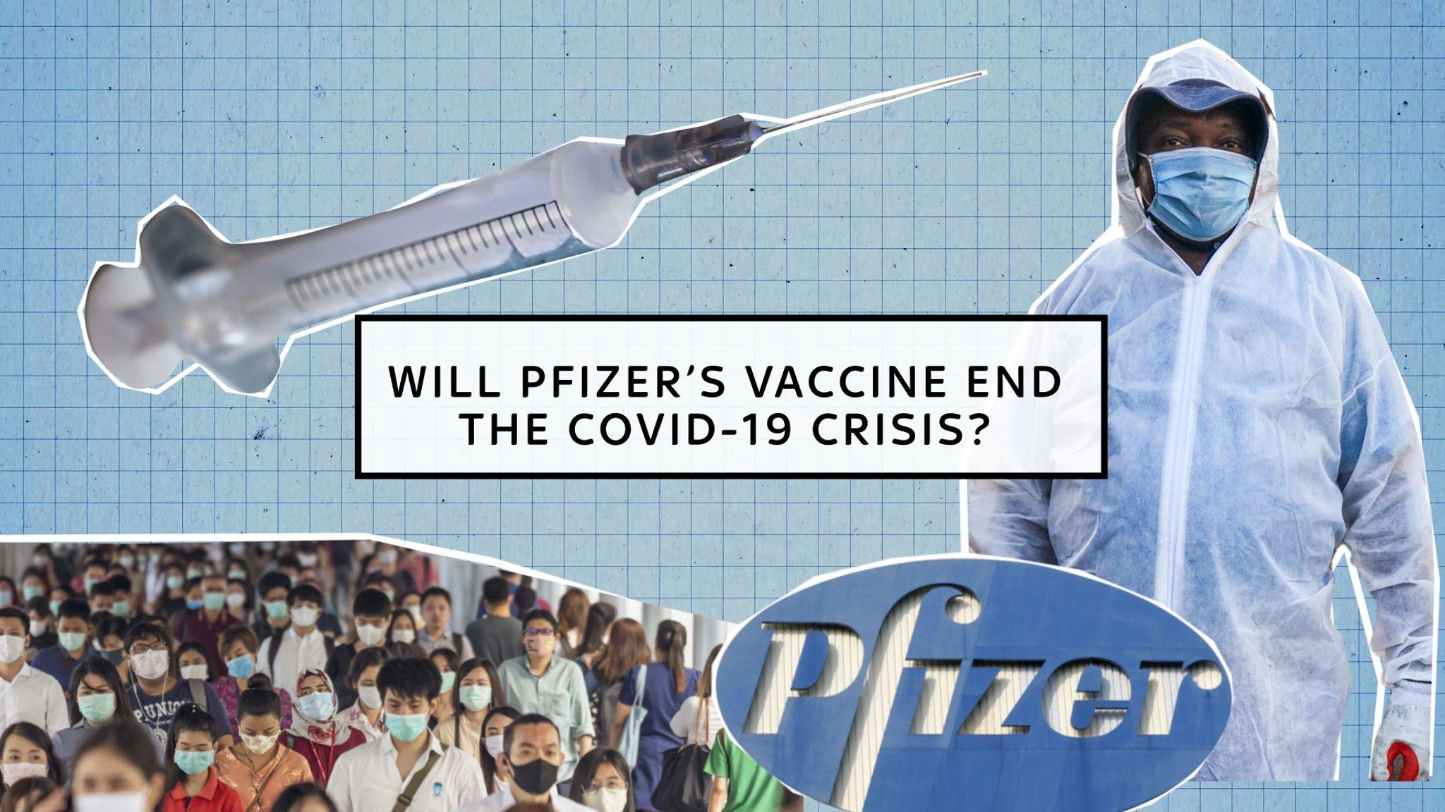 Coronavirus: Will the Pfizer and BioNTech vaccine end the crisis?   World  News   Sky News