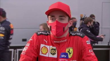 Leclerc 'happy' with fifth place