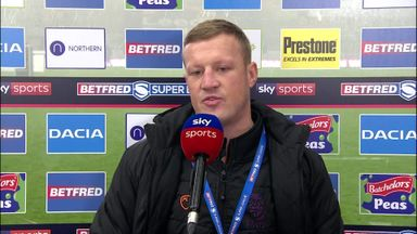 Robinson disappointed with second half