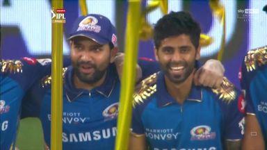 Mumbai Indians lift IPL trophy