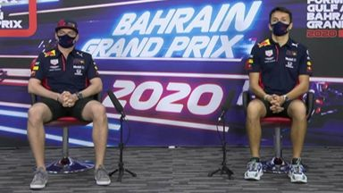 Bahrain GP: Red Bull press conference