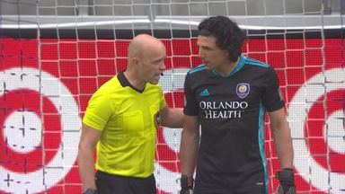 MLS shootout chaos: Red card, illegal sub, defender in goal