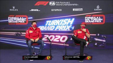 Ferrari: Turkish GP press conference