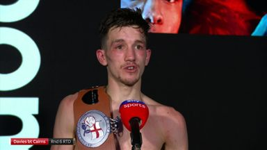 Davies targets British Title