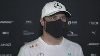 Bottas not happy with balance