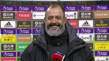 Nuno 'proud' of Wolves' reaction