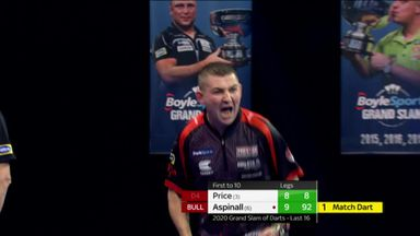 Aspinall defeats Price on bull!