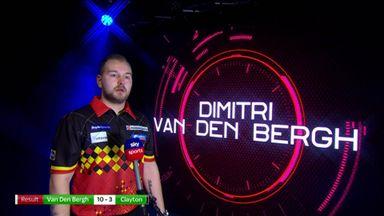 VDB looking to continue winning streak