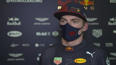 Positive Friday for Verstappen