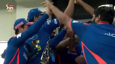 Mumbai's winning moment in IPL final