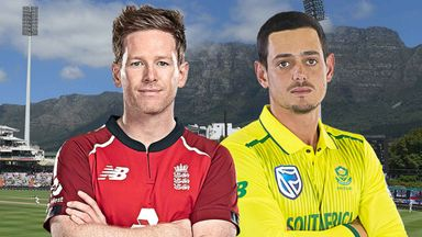 South Africa v England 1st T20 27.