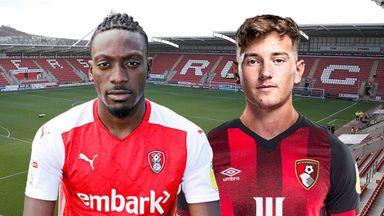 EFL Hlts: Rotherham v Bournemouth