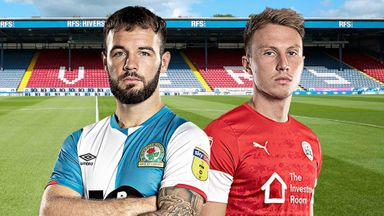 EFL Hlts: Blackburn v Barnsley