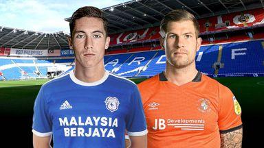 EFL Hlts: Cardiff v Luton