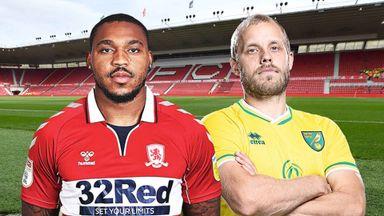 EFL Hlts: Middlesbrough v Norwich
