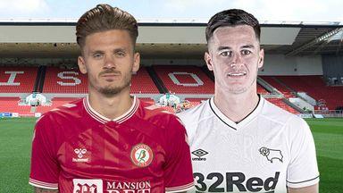 EFL Hlts: Bristol City v Derby