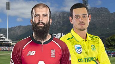 South Africa v England 2nd T20 29.