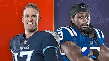 Titans @ Colts Hlts