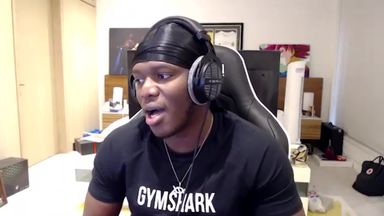 KSI: No rush to fight Jake Paul