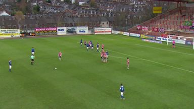Rowe smashes unstoppable free-kick