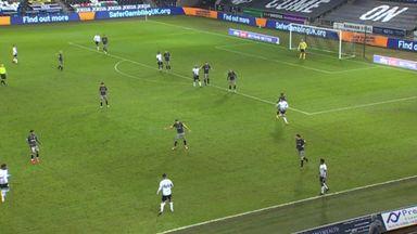 Ayew scores stunner for Swansea!