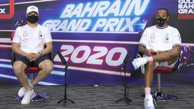 Bahrain GP: Mercedes press conference