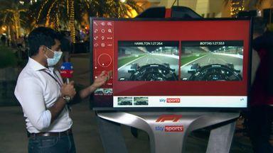 How Hamilton won the Bahrain pole fight