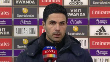 Arteta on Arsenal form: I am really concerned