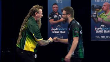 Whitlock beats Hunt to reach quarters