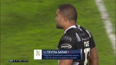 Satae extends Hull's lead