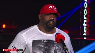 Chisora: I won the fight 100%