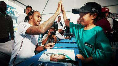 Lewis Hamilton: The fans' tribute