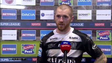 Sneyd: We're working hard for each other