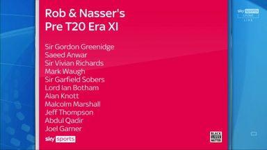 Rob and Nasser's pre-T20 Era XI