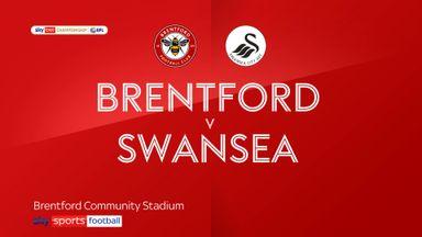 Brentford 1-1 Swansea