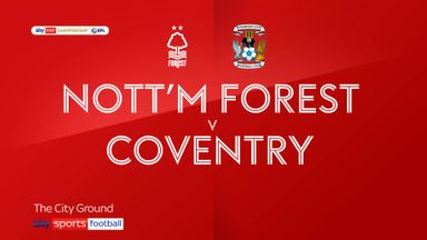 Nottingham Forest 2-1 Coventry