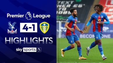 Palace put four past Leeds