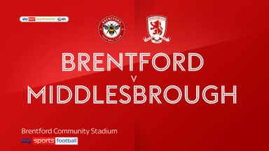 Brentford 0-0 Middlesbrough