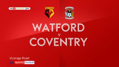 Watford 3-2 Coventry