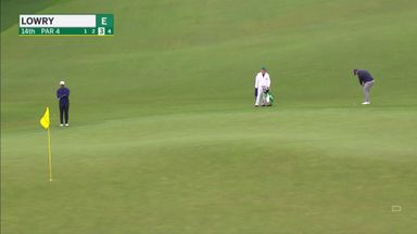 Lowry's outrageous chip-in!