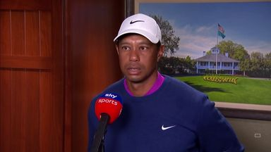Woods pleased to progress at Augusta