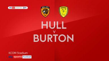 Hull 2-0 Burton