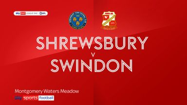 Shrewsbury 3-3 Swindon