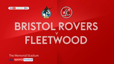 Bristol Rovers 1-4 Fleetwood