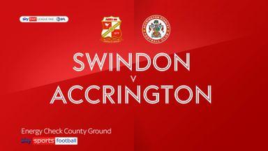 Swindon 0-3 Accrington