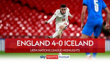 England 4-0 Iceland highlights
