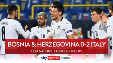 Bosnia & Herz. 0-2 Italy