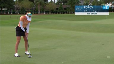Popov moves ahead on LPGA Tour