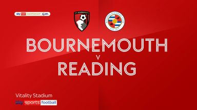 Bournemouth 4-2 Reading
